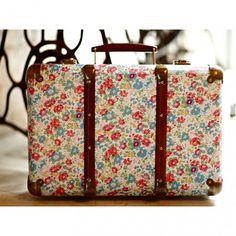 valise Vintage floral