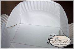 Create a Paper Plate Gift Box & Learn to Create a Paper Plate Gift Box #TigerStrypesBlog | Box ...