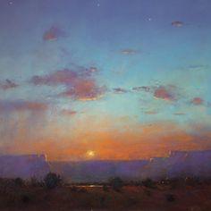 Canyon Sunset After a Rain - Tom Perkinson