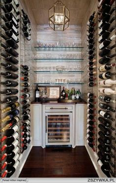 Wine room! Love it