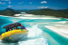 Ocean Rafting Whitsundays #Australia