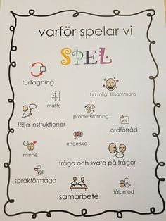 Från twitter, skollogoped Julia Preschool Library, Preschool Activities, Educational Activities For Kids, Classroom Activities, Preschool Assessment, Preschool Playground, Learn Swedish, School Subjects, Social Skills
