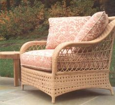 Superb Brighton Lounge Chair : Lounge Chairs : Style : Outdoor Furniture : The  Wicker Works Great Pictures