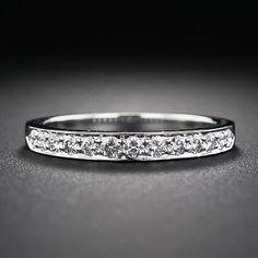 Tiffany Diamond Wedding Band