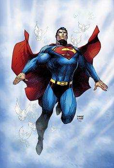Superman Man of Steel Jim Lee DC Comics Superheroes Superhero Batman Et Superman, Superman Family, Superman Man Of Steel, Superman Wonder Woman, Superman Stuff, X Men, Jim Lee Art, Arte Dc Comics, Dc Comics Characters