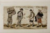Album Amicorum of Paul van Dale.  Creator: Paul van Dale |   Coverage: Flemish |   Date: c.1569-1578