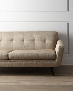 """Hilton"" Sofa by Massoud at Horchow."