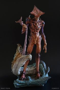 Striker Maquette, Dominic Qwek on ArtStation at https://www.artstation.com/artwork/striker-maquette