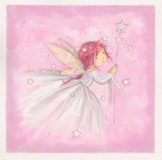 Annabel Spenceley - Fairy In Pink