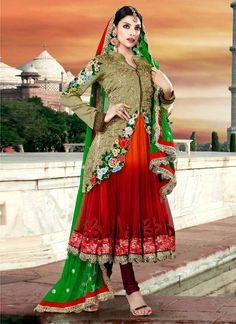 Indian Anarkali Dresses | Designers Wedding Indian Anarkali Dresses 2013 | Trendy Mods.Com