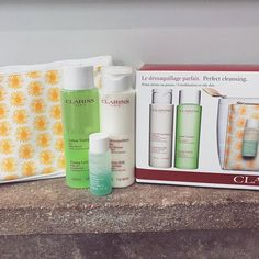 Another fabulous raffle prize for tomorrow! Big thank you to @margaretbalfourbeautycentre. #hairsalon #raffle #events #clarins #sherborne