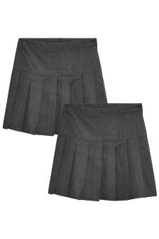 d5362ff88a Next, Grey Pleated Skirt Two Pack (3-16yrs), £9 - £17 | Back to ...