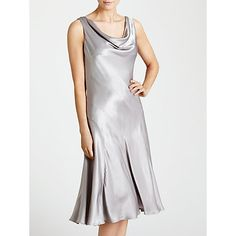 Buy Ghost Lucy Dress, Silver Online at johnlewis.com