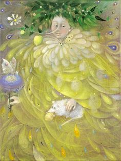 King Lemon by Anelia Pavlova. How cute is this fellow, huge white mouse and all?