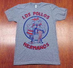 "Unisex American Apparel ""Los Pollos Hermanos"" Tri-Blend Track T-Shirt by BangOnCustomTshirts on Etsy https://www.etsy.com/listing/264459763/unisex-american-apparel-los-pollos"