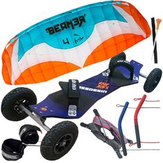 Beginner Kite Landboard Package Deal