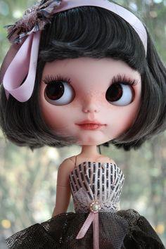 RESERVED for M OOAK Custom Blythe Doll Annika by BlythebyCihui