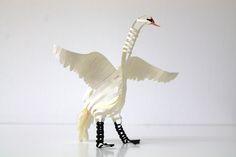 Swan. by : : PINE : :, via Flickr