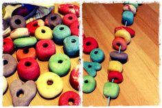 MaJa - JuLi: Salzteig Spiel und Perlen