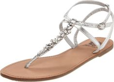 Yellow Box Womens ISIS SandalSilver8 M US -- Click image for more details.(This is an Amazon affiliate link and I receive a commission for the sales)