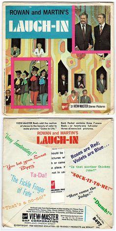 Rowan & Martin's Laugh-In (1968-73, NBC) — 1968 View-Master reels