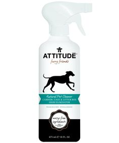 ATTITUDE Natural Pet Cleaner Carrier, Cage and Litter Box, Fragrance Free, 16 Fluid Ounce >>> Don't get left behind, see this great cat product : Cat litter