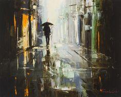 'Homeward Bound' by Gleb Goloubetski Oil on Canvas 65cm x 80cm