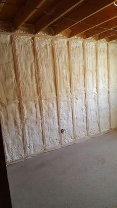 New Spray Insulation Basement