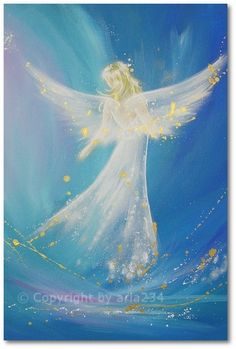 Limited angel art photo accompanied on your way by HenriettesART