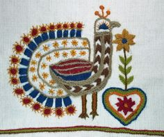 ♒ Enchanting Embroidery ♒ embroidered folk art