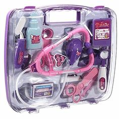 XIDAJE Kids Pretend Doctor's Medical Play Set and Carry Case Kit Boys Girls Toy * Check out this great product.