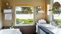 Framing Nature Bathroom