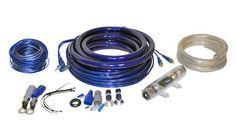 Lanzar 5000 WATT 0/1 Gauge Car Audio Amplifier Wiring Kit AMPKIT0,    #Lanzar Amplifier Kits
