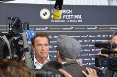 Arnold Schwarzenegger at Zurich Film Festival 2015