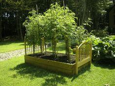 Custom Eclectic Raised Vegetable Garden Patio Beds Ideas