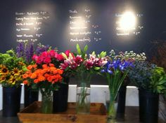 Flower Bar ready for service! Don't forget friendship day this Sunday the 3rd.
