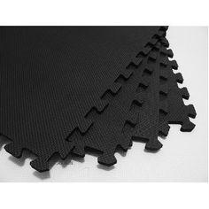 "168 Square Feet ( 42 tiles + borders) 'We Sell Mats' Black 2' x 2' x 3/8"" Anti-Fatigue Interlocking EVA Foam Exercise Gym Flooring (Misc.)  http://www.amazon.com/dp/B001EJI6DO/?tag=goandtalk-20  B001EJI6DO"