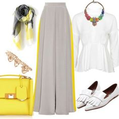 hijab hijeb voile outfit inspiration tenue look style fashion mode muslima modest wear modest fashion