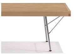 Nelson Platform Bench with Metal Base | Herman Miller