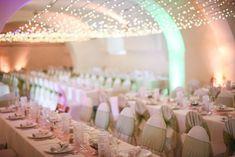 Egy kastély minden menyasszony álma #wedding  #decor #hochzeit #esküvő #weddinglights #weddinginacastle Minden, Castle, Lights, Table Decorations, Wedding, Home Decor, Valentines Day Weddings, Decoration Home, Room Decor