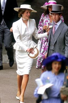 The Best Pictures from Royal Ascot  - Princess Diana and Prince Charles