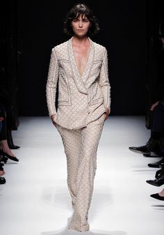 Arizona Muse for Balmain Fall 2012 at Paris Fashion Week