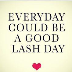Good morning WORLD!!!!!!!!!! Woop! Let's lash! ❤️