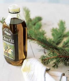 New Uses~Olive Oil to remove tree sap