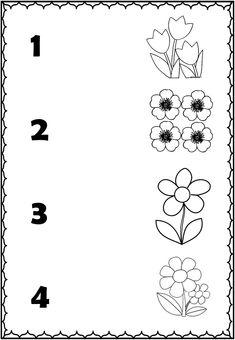 Alphabet Activities Kindergarten, Preschool Number Worksheets, Preschool Assessment, English Worksheets For Kids, Preschool Education, Preschool Printables, Preschool Activities, Simple Math, Super Simple