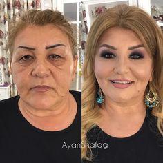 Transformação - Antes e depois da maquiagem - #lacremania