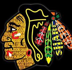 The Blackhawks...