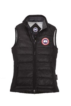 Canada Goose' Hybridge Lite Quilted Down Jacket - Black Shell/Red