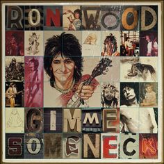 Ron Wood Gimme Some Neck vinyl LP 1979 ΕΧ+ condition by pickergreece on Etsy