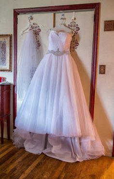 THE DRESS!!! on itsabrideslife.com /David Tutera for Mon Cheri / Wedding Dresses